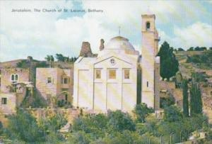 Israel Jerusalem The Church Of St Lazarus Bethany