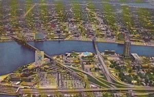 Florida Jacksonville the Mighty Saint Johns River Flows Through The Heart Of ...