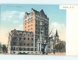Unused Divided-Back BUILDING Buffalo New York NY ho0324