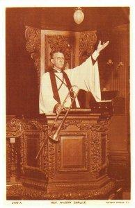 Nostalgia Postcard Rev. Wilson Carlisle 1906 Reproduction Card NS24