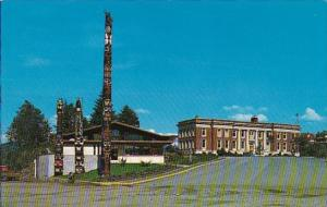 Indian The Prince Rupert Museum With Provincial Courthouse In Background  Pri...