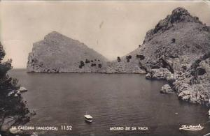 Spain Mallorca La Calobra Morro De Sa Vaca 1958 Real Photo