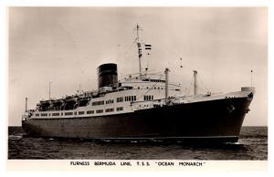 T.S.S. Ocean Monarch ,  Furness Bermuda Line ,  RPC