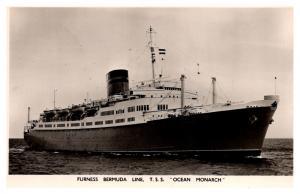 T.S.S. Ocean Monarch ,  Furness Bermuda Line ,  RPC