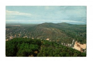 Arial View From Observation Tower Hot Springs Arkansas Postcard Mountain #82011