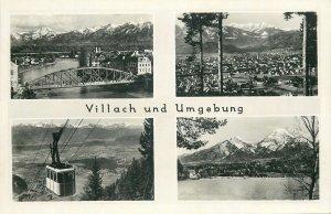 Postcard Germany Villach und Umgebung various sights