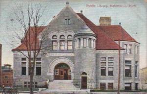 Public Library Kalamazoo Michigan 1908