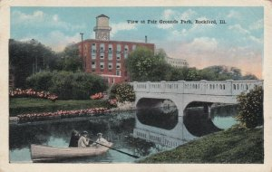 ROCKFORD , Illinois, 1910s ; View at Fair Grounds Park
