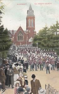 ALDERSHOT , UK , 1908 : All Saints Church ; TUCK