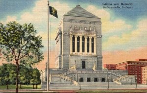 Indiana Indianapolis Indiana War Memorial Curteich