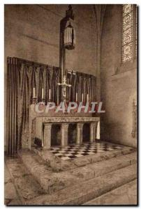 Abbey Church St Pierre of Solesmes - The Altar - Old Postcard
