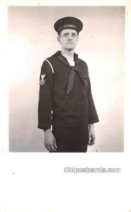 Military Real Photo Post Cards Old Vintage Antique Soldier, Army Men US Navy ...