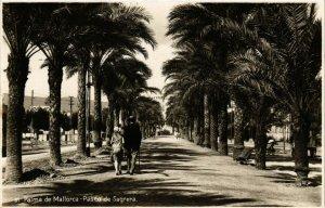 CPA Espagne Palma de Mallorca-Paseo de Sagrera (317872)