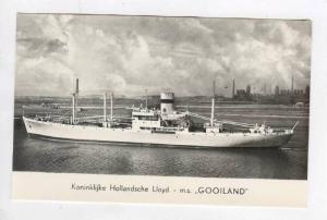 Koninklijke Hollandsche Lloyd - m.s.  GOOILAND , 1944