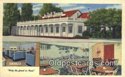 Salt Lake City, Utah USA The Doll House Restaurant Road Side Postcard Post Ca...