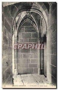 Postcard Old Aigues Mortes Saint Louis Oratory