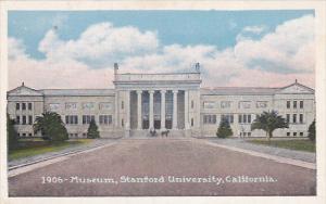 1906 Museum, Stanford University, California, 10-20s