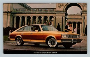 1979 Buick Century Limited Sedan, 4-Door, Hardtop, Chrome Postcard