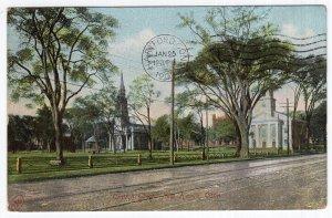 New Haven, Conn, Church Green