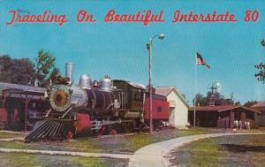 Nebraska Minden 1889 Baldwin Locomotive At Pioneer Village