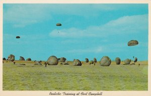 FORT CAMPBELL, Kentucky, 1950-1960s; Paratrooper Training