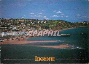 Modern Postcard Teignmouth Devon This popular resort's miles north of Torquay...