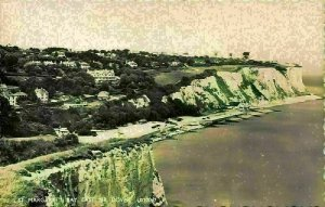 St Margaret's Bay East Nr Dover Beach Panorama Postcard