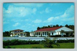 Pompano Beach FL- Florida, Assumption Catholic Church, Religion, Chrome Postcard