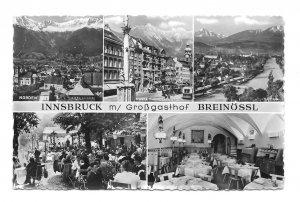 Innsbruck Austria Grossgasthof Breinossl Guesthouse Hotel Inn Multiview Postcard