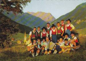 Austria Tirol Heimatgruppe Bichlbach in Local Costume