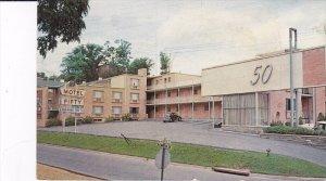 ARLINGTON, Virginia; Motel Fifty, Classic Car, 1940-60s