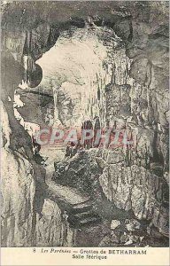Postcard Ancient Caves of Betharram The Pyrenees room Feerique