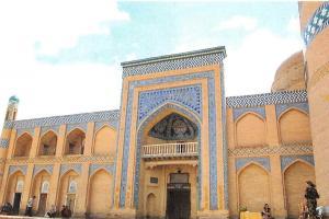 Uzbekistan Chiwa Die Medresse Islam Chodsha The Islam Khoja Madrasah