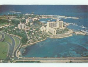 Pre-1980 HILTON HOTEL San Juan Puerto Rico PR HQ1974
