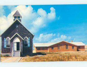 Pre-1980 CHURCH SCENE Nags Head North Carolina NC hs7565