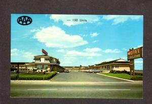 QC Motel L' Abitation Laurier Quebec Canada Carte Postale Postcard