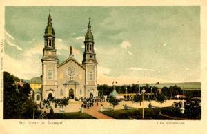 Canada - Quebec, Ste Anne de Beaupre.