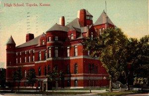 Kansas Topeka High School 1912