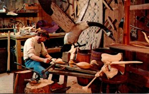 New Jersey Millville Wheaton Village Woodworker