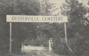 OYSERTERVILLE , L.I. , NY , 1930s ; Cemetery Entrance