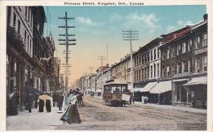 Princess Street, Walking Scene, Kingston, Ontario, Canada, 1910-1920s