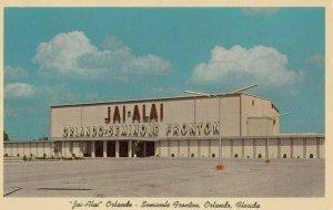 ORLANDO , Florida, 1950-60s ; Jai-Alai Arena