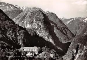 NAERODAL CANYON NORWAY NORGE STALHEIM HOTEL~NORMANN PHOTO POSTCARD 1950s