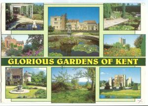 UK, Glorious Gardens of Kent, 2002 used Postcard