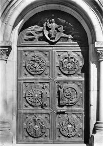 Stiftskriche Freckenhorst Bronzeportal H. G. Buecker