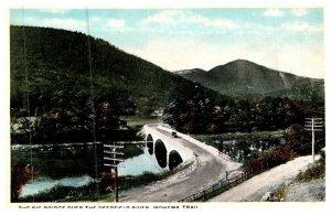 Massachusetts , Mohawk Trail ,Bridge Over Deerfield River