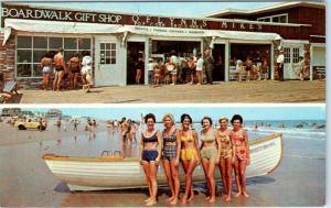 SEA ISLE CITY, New Jersey  NJ    Promenade Beach  BATHING BEAUTIES  Postcard*
