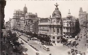 Spain Madrid Calle de Alcala y Avenida de Jose Antonio Real Photo