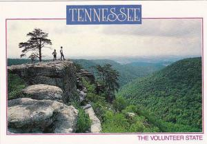 Tennessee The Volunteer State Plateau & Valley Scene