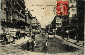 CPA MARSEILLE La Cannebiere (66674)